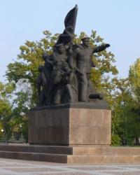Памятник героям-ольшанцам в Николаеве