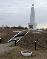 Памятник солдатам-пленным фашистского концлагеря 1941-1944гг. с.Терновка (Криворожский р-н)