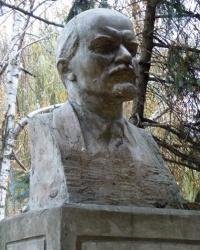 Бюст Ленина в с.Николай-Поле (Запорожский р-н)