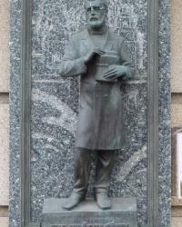 Мемориальная доска Манжуре И.И г.Днепропетровск