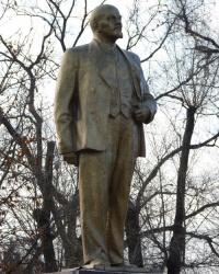 Памятник В.И.Ленину (демонтирован) в пгт.Широкое