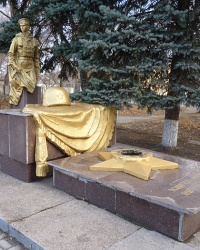Памятник воинам-интернационалистам в пгт.Широкое