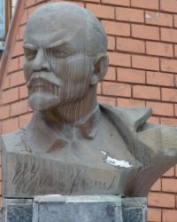 Памятник Ленину возле колонны №246 в г. Днепропетровск