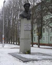 Памятник Б. А. Кротову в Днепропетровске