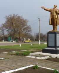 Памятник В.И.Ленину в Троицко-Сафоново