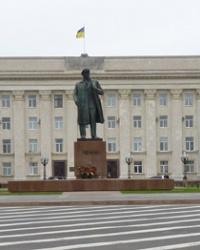 Памятник В.И. Ленину в г.Херсон
