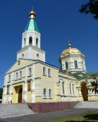 Свято-Петропавловская церковь в пгт.Петропавловка