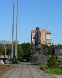 Памятник В.И. Ленину в г. Мариуполь