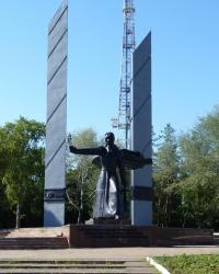 Монумент Победы - «Воин-освободитель» в г.Мариуполь