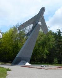 Памятник воинам-освободителям МИГ - 17 «Самолет» в г.Мариуполь