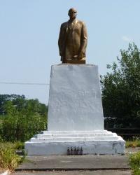 Памятник В.И.Ленину в с.Баловка (Днепропетровский р-н)