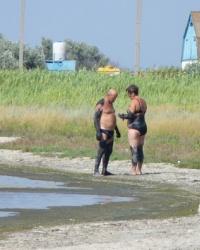 Источник лечебных грязей. Бердянский лиман (озеро Долгое)