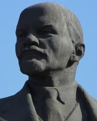 Памятник В.И.Ленину в пгт.Зачепиловка