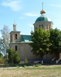 Свято-Архангело-Михайловский храм в пгт.Зачепиловка