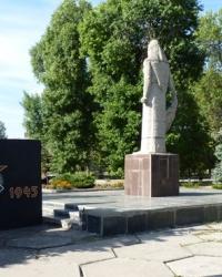 Братская могила в пгт.Зачепиловка