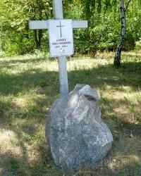 Пам'ятник-хрест жертвам голодомору у с.Мишурин Ріг