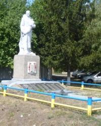 Братская могила в с.Красногоровка (Великобагачанский р-н)