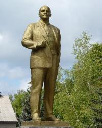 Памятник В.И.Ленину в пгт.Днепровское