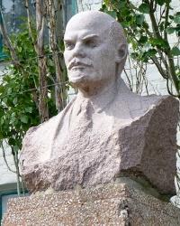 Бюст В.И.Ленина (возле шахты) в г.Димитров