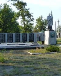 Братская могила в пгт.Яровая (Краснолиманский р-н)