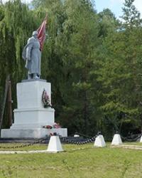 Памятник советским воинам в г.Изюм