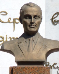 Бюст В. А. Сухомлинского в г.Николаев