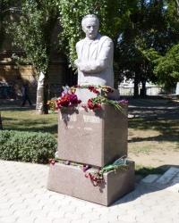 Памятник Вячеславу Черноволу в Николаеве (сквер им.Н.В.Черновола)