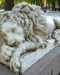 Аркасовские львы в г. Николаев