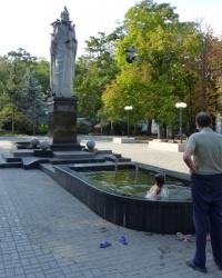 Памятник Святому Николаю-Чудотворцу в Николаеве (Каштановый сквер)
