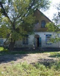 Здание бывшего госпиталя (1943 год). с.Широкое