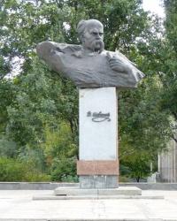 Памятник Тарасу Шевченко в Запорожье