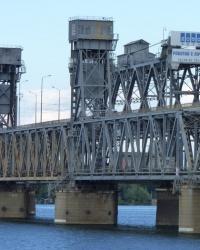 Амурский мост (Старый) в Днепропетровске