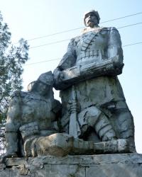 Братская могила в с.Кислечеватая (Томаковский р-н)