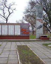 Братская могила в с.Николаевка (Петропавловский р-н)