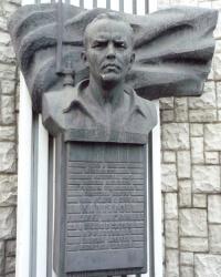 Памятник Каптурову Василию Максимовичу в Днепропетровске
