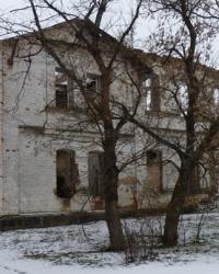 Здание сельской школы (постройка 1901 года) в с.Чечелиевка