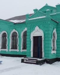 Здание церковно-приходской школы (современный Дом детей и юношества) в г.Верховцево