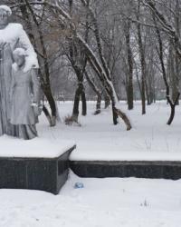 Братская могила в г.Верховцево