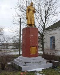 Братская могила в с.Семеновка (Криничанский р-н)