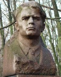 Памятник Мамонтову В.Д. в г.Вольногорск