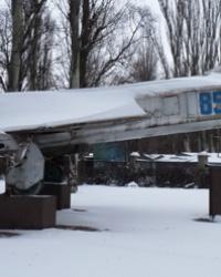 Памятник самолет Су-15; Клуб «Юный авиатор» в г.Кривой Рог