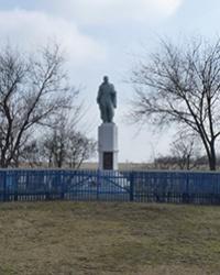 Братская могила в с.Александровка (Криничанский р-н)
