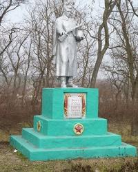 Братская могила в с.Покровка (Криничанский р-н)