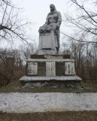 Братская могила в с.Милорадовка (Криничанский р-н)