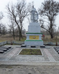Братская могила в с.Гречаное (Петриковский р-н)