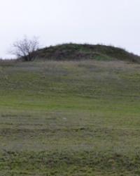 Курган (4м) в с.Сергеевка (Софиевский р-н)