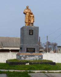 Братская могила советских воинов в с.Лобойковка