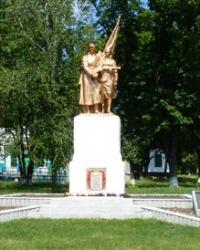 Памятник воинам-односельчанам в с.Ливенское(Новосанжарский р-н)