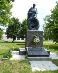 Памятник воинам-односельчанам в с.Шедиево (Новосанжарский р-н)