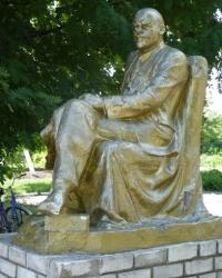 Памятник В.И.Ленину в с.Казначеевка